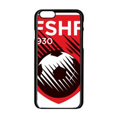 Crest Of The Albanian National Football Team Apple Iphone 6/6s Black Enamel Case