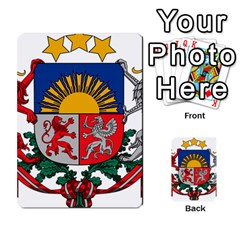 Coat Of Arms Of Latvia Multi Purpose Cards (rectangle)  by abbeyz71