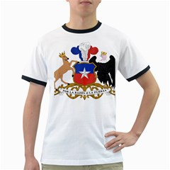 Coat Of Arms Of Chile  Ringer T Shirts