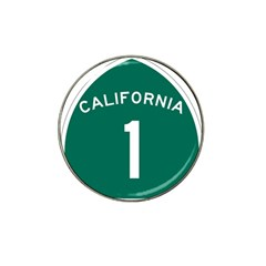 California 1 State Highway   Pch Hat Clip Ball Marker