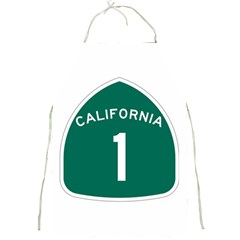 California 1 State Highway   Pch Full Print Aprons