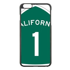 California 1 State Highway   Pch Apple Iphone 6 Plus/6s Plus Black Enamel Case by abbeyz71
