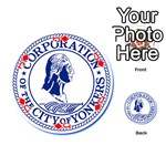 Seal Of Yonkers, New York  Playing Cards 54 (Round)  Front - DiamondJ