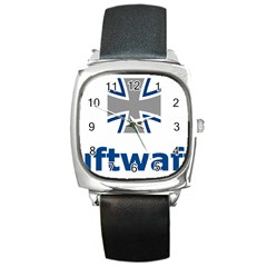 Luftwaffe Square Metal Watch by abbeyz71