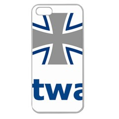 Luftwaffe Apple Seamless Iphone 5 Case (clear) by abbeyz71