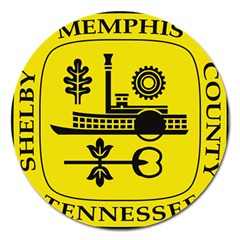 Seal Of Memphis  Magnet 5  (round) by abbeyz71