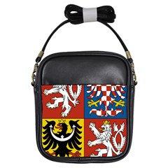 Coat Of Arms Of The Czech Republic Girls Sling Bags by abbeyz71