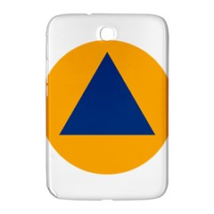 International Sign Of Civil Defense Roundel Samsung Galaxy Note 8 0 N5100 Hardshell Case  by abbeyz71