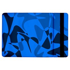 Blue Pattern Ipad Air Flip by Valentinaart