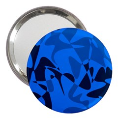 Blue Pattern 3  Handbag Mirrors by Valentinaart