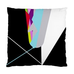 Colorful Abstraction Standard Cushion Case (one Side) by Valentinaart
