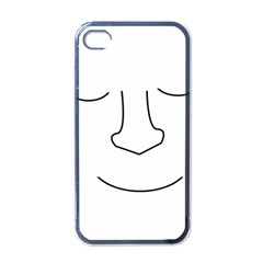 Sleeping Face Apple Iphone 4 Case (black) by Valentinaart