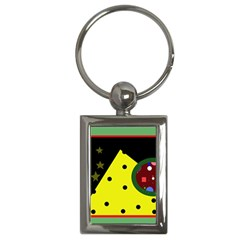 Abstract Design Key Chains (rectangle)  by Valentinaart