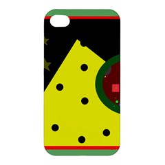 Abstract Design Apple Iphone 4/4s Hardshell Case by Valentinaart
