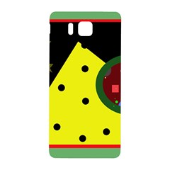 Abstract Design Samsung Galaxy Alpha Hardshell Back Case by Valentinaart