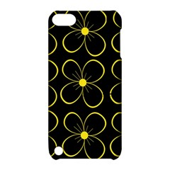 Yellow Flowers Apple Ipod Touch 5 Hardshell Case With Stand by Valentinaart