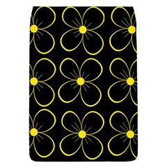 Yellow Flowers Flap Covers (l)  by Valentinaart