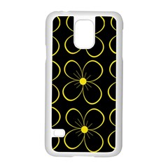Yellow Flowers Samsung Galaxy S5 Case (white) by Valentinaart