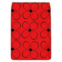 Red Floral Pattern Flap Covers (l)