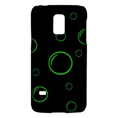 Green Buubles Pattern Galaxy S5 Mini by Valentinaart