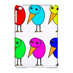Colorful Birds Apple Ipad Mini Hardshell Case (compatible With Smart Cover) by Valentinaart