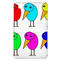 Colorful Birds Samsung Galaxy Tab Pro 8 4 Hardshell Case by Valentinaart