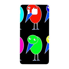 Colorful Birds Samsung Galaxy Alpha Hardshell Back Case by Valentinaart