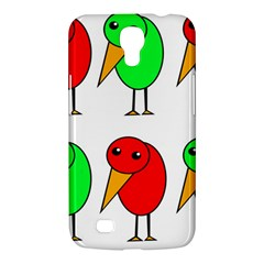 Green And Red Birds Samsung Galaxy Mega 6 3  I9200 Hardshell Case by Valentinaart