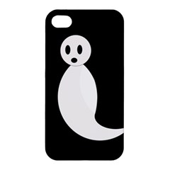Ghost Apple Iphone 4/4s Hardshell Case by Valentinaart