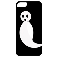 Ghost Apple Iphone 5 Classic Hardshell Case by Valentinaart