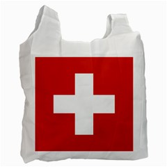 National Flag Of Switzerland Recycle Bag (one Side) by abbeyz71