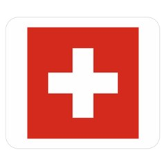 National Flag Of Switzerland Double Sided Flano Blanket (small)
