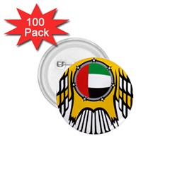 Emblem Of The United Arab Emirates 1 75  Buttons (100 Pack)  by abbeyz71