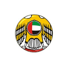 Emblem Of The United Arab Emirates Hat Clip Ball Marker (10 Pack)