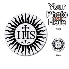 Society Of Jesus Logo (jesuits) Multi Purpose Cards (round)  by abbeyz71