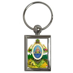 Coat Of Arms Of Honduras Key Chains (rectangle)