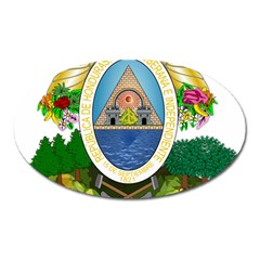 Coat Of Arms Of Honduras Oval Magnet by abbeyz71