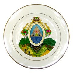 Coat Of Arms Of Honduras Porcelain Plates