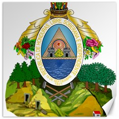 Coat Of Arms Of Honduras Canvas 12  X 12