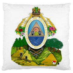 Coat Of Arms Of Honduras Large Cushion Case (two Sides)