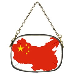 Flag Map Of China Chain Purses (two Sides)  by abbeyz71