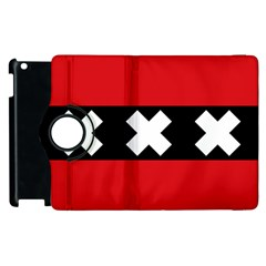 Flag Of Amsterdam Apple Ipad 3/4 Flip 360 Case