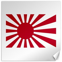 Ensign Of The Imperial Japanese Navy And The Japan Maritime Self Defense Force Canvas 16  X 16   by abbeyz71