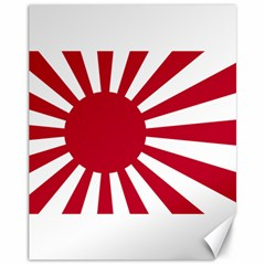 Ensign Of The Imperial Japanese Navy And The Japan Maritime Self Defense Force Canvas 11  X 14   by abbeyz71