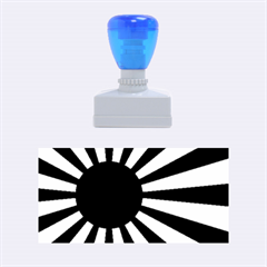 Ensign Of The Imperial Japanese Navy And The Japan Maritime Self Defense Force Rubber Stamps (medium)  by abbeyz71