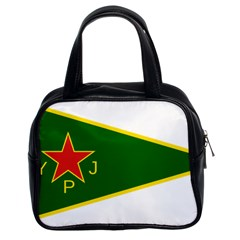 Flag Of The Women s Protection Units Classic Handbags (2 Sides) by abbeyz71