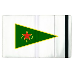 Flag Of The Women s Protection Units Apple Ipad 2 Flip Case by abbeyz71