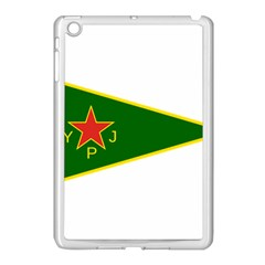 Flag Of The Women s Protection Units Apple Ipad Mini Case (white) by abbeyz71