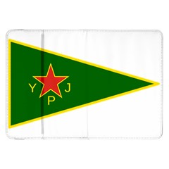 Flag Of The Women s Protection Units Samsung Galaxy Tab 8 9  P7300 Flip Case by abbeyz71
