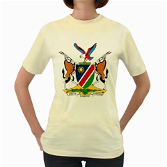 Coat Of Arms Of Namibia Women s Yellow T-shirt